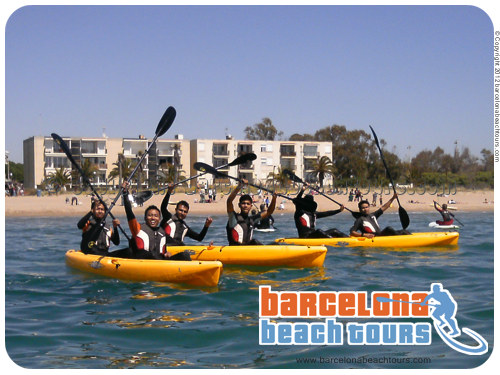 kayak rental and classes Barcelona